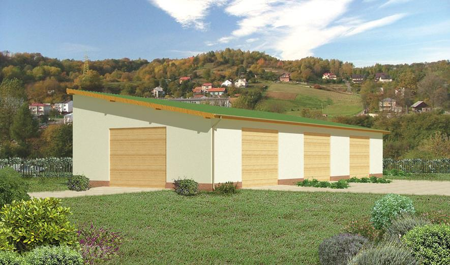 GMC04c Budynek garażowo-magazynowy