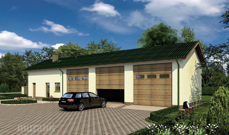 GMC50 Budynek garażowo-magazynowy z pom. pomocniczymi