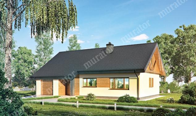 Projekt domu:  Murator C318   – Idealny